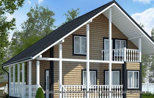 Современные производители предлагают множество типовых проектов, по которым могут быть построены каркасные дома