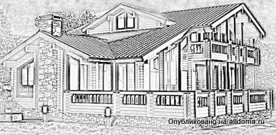 Как построить деревянный дом из бруса?