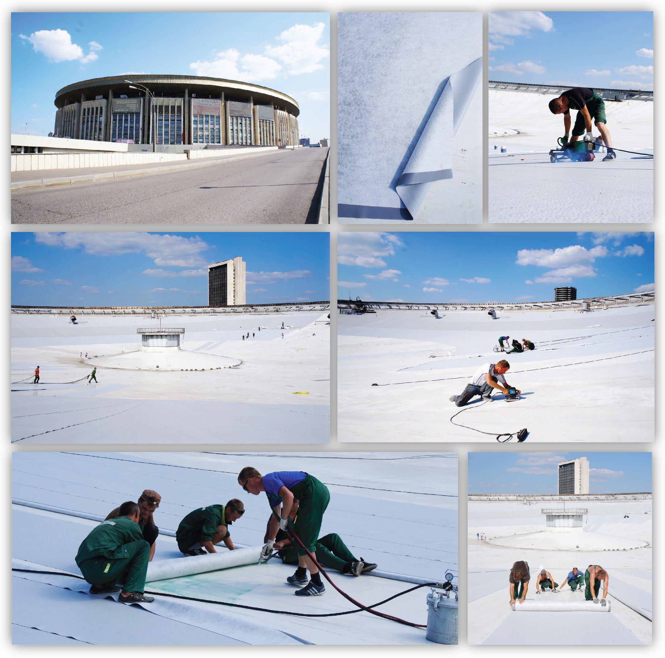 Корпорация ТехноНИКОЛЬ выпустила специальную партию мембраны LOGICROOF для реконструкции СК «Олимпийский».