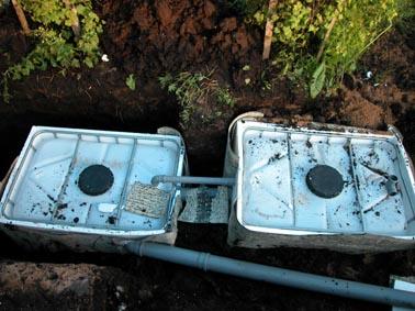 Устройство подземного самодельного септика(выгребной ямы)для дома, дачи...