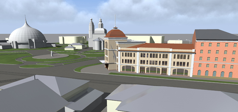 выбирается лучшая концепция строительства многофункционального административного здания